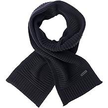 Belstaff–Pañuelo de hombre 'Kameron' Cachemira/lana) Negro