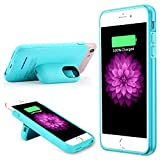 iPhone 6Akkuladehülle iPhone 6s Ladegerät-Hülle von Muze, magnetische aufladbare externe Ladehülle für iPhone 7, 3.000mAh, schlanke Schutzhülle für zusätzliches Backup-Ladegerät für iPhone 6/6S/7[11,9cm]