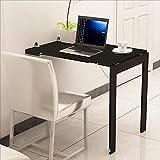 Yisaesa Klappbarer Wand-Esstisch Computer Multifunktions Tisch Schreibtisch (Farbe : 1, Größe : -)