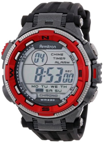 armitron-sport-homme-40-8301red-red-and-silver-tone-accented-black-resin-strap-chronographe-digital-