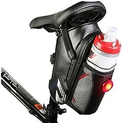 Bicicleta Bolsas,Bolsas Para Bicicletas,Bolsas de Ciclismo,Paquete de Asiento de La Bicicleta,Fibra de Carbono & Ligero & Impermeable
