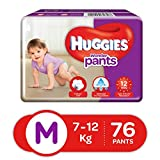 Best Huggies Diapers For Babies - Huggies Wonder Pants Diapers, Medium (Pack of 76) Review