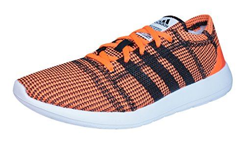 adidas Element Refine Tricot Mens Running Trainers / Shoes-Orange-6.5