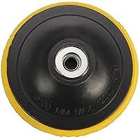 KUNSE Velcro Placa De Pulir Respaldo M10 Rueda Amoladora Angular Almohadilla De Respaldo 80/100/125 Mm para Discos De Pulir-125 Mm