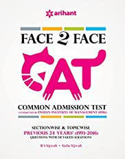 Face to Face CAT Common Admission Test Previous 24 years (1993-2016)