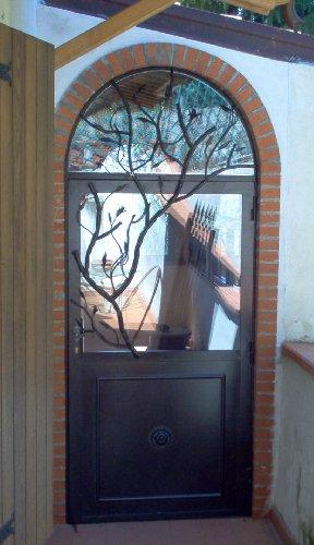 Cancello portone ferro battuto . realizzazioni personalizzate . 577