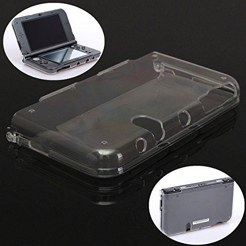 Preisvergleich Produktbild Transparent Clear Crystal Hard Shell Skin Case Schutzhülle Abdeckung für New Nintendo 3DS XL LL