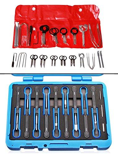 Preisvergleich Produktbild Radio-Ausbauset + 12 tlg. Universal Auspin Werkzeug KT-ET 10