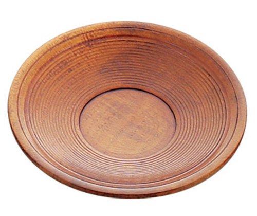 Piattini di legno sensuji 12 centimetri 41112 (giappone import / il pacchetto e il manuale sono scritte in giapponese)
