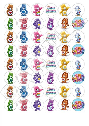 48-x-care-bears-fairy-cake-toppers-printed-on-icing-wafer-paper-or-wafer-card-wafer-paper