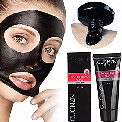 MY LITTLE BEAUTY Blackhead Remover Black Mask Cleaner Purifying Deep Cleansing Acne Black Mud Face Mask Peel-off by MY LITTLE BEAUTY