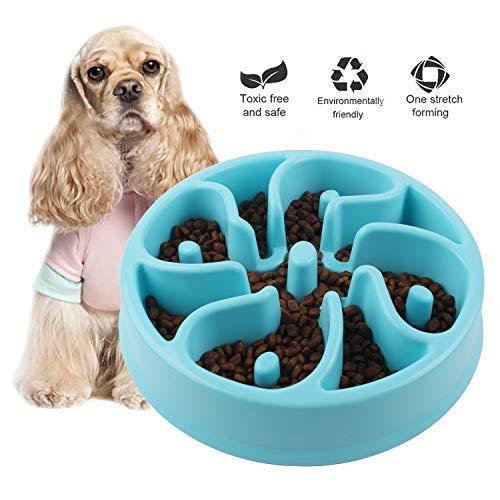 Jomia Haustier Schüssel Essen Essen Spaß interaktive Hund Gericht für langsamen Vorschub, Hundenapf langsam Bowly - verlangsamen