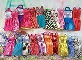 Andensoner 7pcs Accesorios de Ropa de Juguete Infantil Moda Barbie Doll Faldas de Vestir para la niña Vestir Juguetes (al Azar)