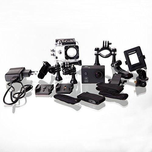 Ultrasport UmovE HD60 Ready Videocamera Action, Nero