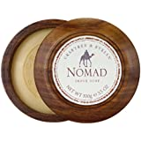 Crabtree & Evelyn Nomad Shave Soap in Wooden Bowl 100 g