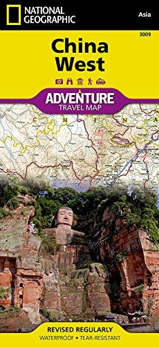 China, West: Travel Maps International Adventure Map