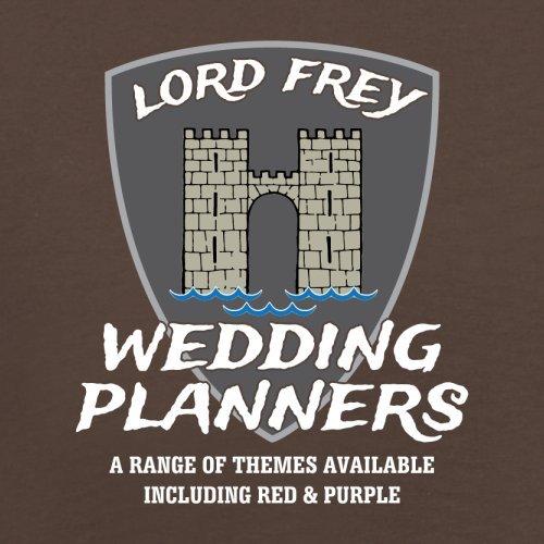 Lord Frey Wedding Planners - Herren T-Shirt - 13 Farben Schokobraun