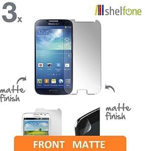 3 x Premium Protective MATT MATTE ANTI GLARE SCREEN PROTECTOR GUARD SHIELD FOR SAMSUNG GALAXY S4 i9500 S IV