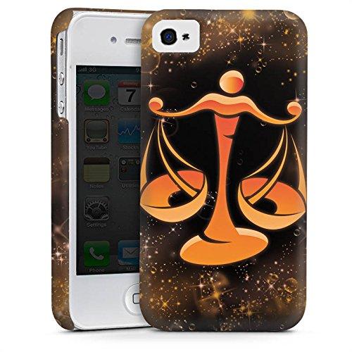 Apple iPhone 5s Housse Étui Protection Coque Signes du zodiaque Balance Balance Cas Premium mat