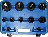 BGS 8265 Spezial-Einsatz-Set für Nutmuttern, 22-75 mm, 11-TLG