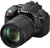 Nikon D5300 Appareil photo numérique Reflex 24,2 Mpix Kit Objectif AF-S 18-105 mm Noir