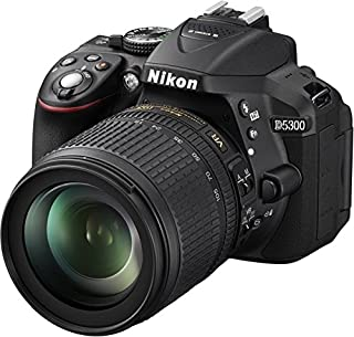 "Nikon D5300 - Cámara réflex Digital de 24.2 MP (Pantalla 3.2"", estabilizador óptico, vídeo Full HD), Negro - Kit con Objetivo AF-S DX 18-105mm VR [Importado] (B00FYV5V0Y) | Amazon Products"
