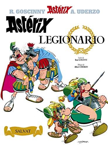 Asterix Spanish: Asterix Legionario por Uderzo, Goscinny Sempe