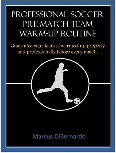 Professional Soccer Pre-Match Team  Warm-Up Routine: