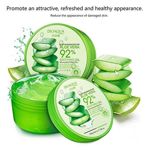 WSX Anti-Akne-Behandlung Narbe Entfernung Gesichtscreme Bleaching feuchtigkeitsspendende Aloe Vera Gel für Gesichtspflege Gesichtsmaske