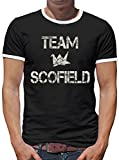 Photo de TLM Team Scofield T-shirt contraste homme T-Shirt par Touchlines Merchandise
