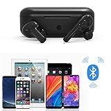 Jamicy® Bluetooth Kopfhörer in Ear Sport Kabellos Ohrhörer Headset Wireless Earbuds Touch-Control, 15 Std Spielzeit mit Ladebox, Mikrofon für iPhone Samsung Huawei (Schwarz)
