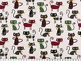Zanderino ab 1m: Baumwolldruck, Katzen,