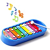 Kid 8-Note Xylophone Smart Clever Wisdom Development Musical Toy