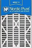 Nordic Pure 16x 25x 3abm12–3Merv 12Air Bär Ersatz-Luftfilter