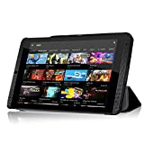 NVIDIA SHIELD K18-Inch Funda–IVSO Slim Smart–Carcasa para Nvidia Shield K1–Tablet negro For NVIDIA SHIELD K1 - 8-Inch