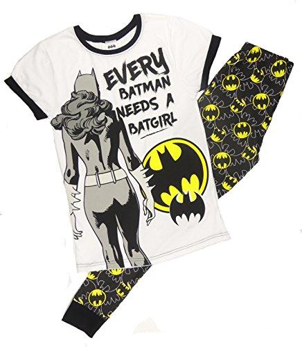 Damen Character Schlafanzüge 8-10 12-14 16-18 20-22 Super Frau Tinkerbell Eeyore Marvel Helden Bat Girl