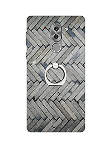 Go Hooked Soft Printed Back Cover with Finger Ring stand for Honor 6X | Honor 6X Printed back cover | Back Cover for Honor 6X