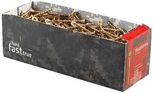 Bullet Lot de 35 vis à bois 6,0 x 200 mm