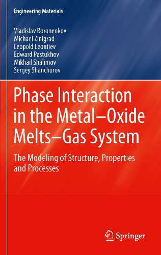 Phase Interaction in the Metal - Oxide Melts - Gas -System: The Modeling of Structure, Properties and Processes (Engineering Materials)