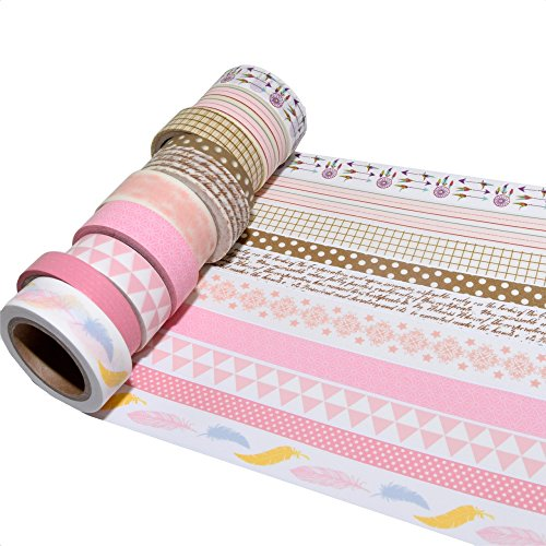 Washi-Tape/ Masking-Tape 10er Set