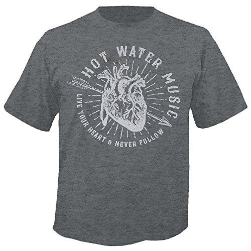 Hot Water Music - Live Your Heart - T-Shirt Größe M