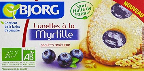 Bjorg Lunettes à La Myrtille Bio 200 g