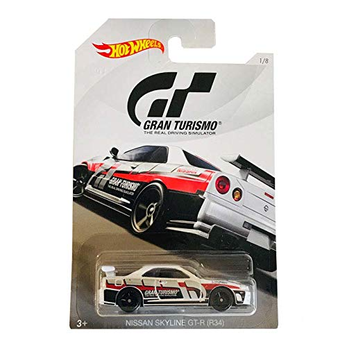 Mattel Cars Hot Wheels - Gran Turismo - Nissan Skyline GT-R (R34)