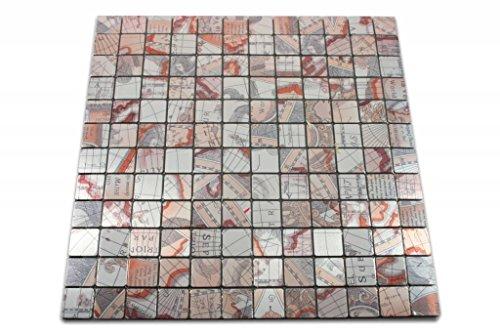 Selbstklebende Stick auf Mosaik Fliesen Abziehen & Aufkleben