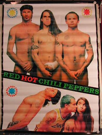 Red Hot Chili Peppers-59 x Poster mostra/81 cm