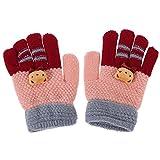 Domybest Winter Baby Kinder Finger Handschuhe Warme Gestrickte Stretch Handschuhe Hände Wärmer