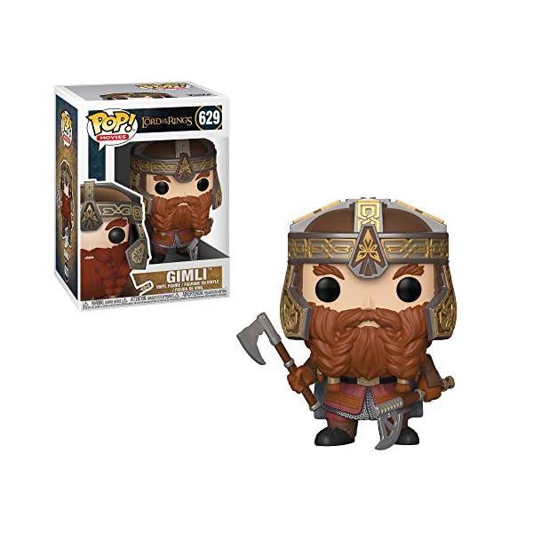 Funko Pop Gimli (El Señor de los Anillos 629) Funko Pop El Señor de los Anillos & El Hobbit