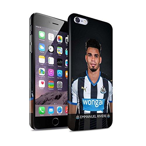 Officiel Newcastle United FC Coque / Clipser Brillant Etui pour Apple iPhone 6+/Plus 5.5 / Pack 25pcs Design / NUFC Joueur Football 15/16 Collection Rivière
