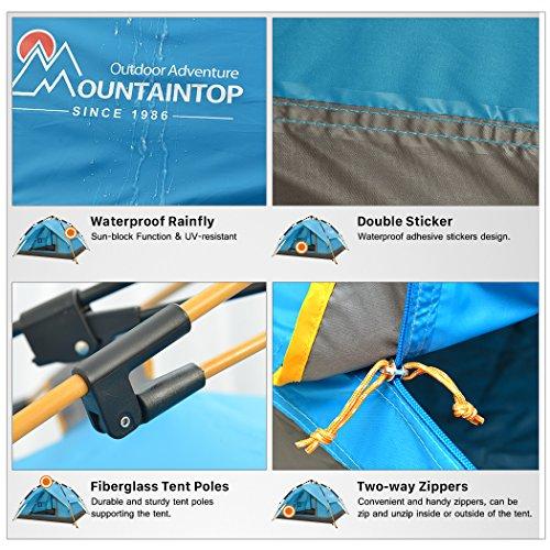 Mountaintop Trekkingzelt für 3 Personen im Test - 6