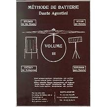 Methode de batterie - Volume 3